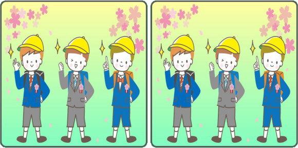 【間違い探し】1か所の間違いを探す脳トレ問題が15問!