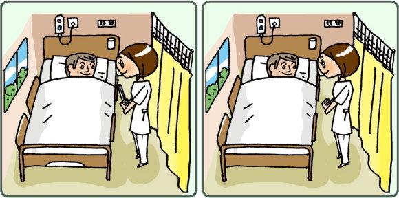 【間違い探し】脳の老化を防止する楽しい脳トレ問題