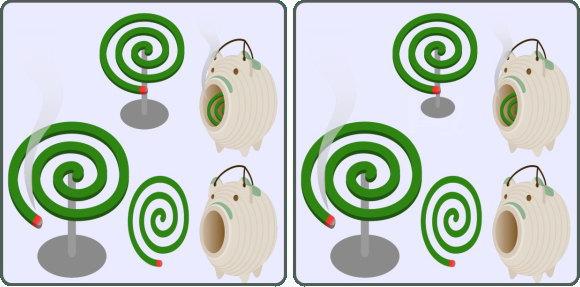 【間違い探し】20秒以内に1か所の間違いを探す脳トレ問題