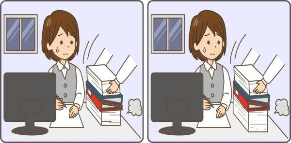 【1か所違い探し】20秒で1か所の間違いを探す認知症予防動画