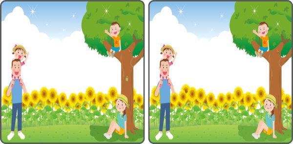 【間違い探し】認知症予防に最適な楽しめる脳トレ問題