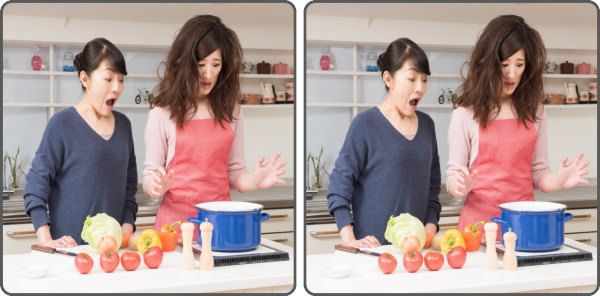 【間違い探し】2枚の写真を見比べて3つの違いを探す楽しい脳トレ!