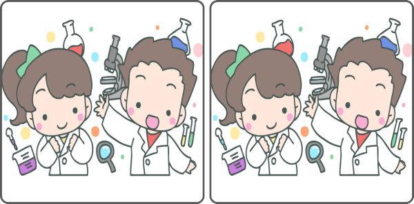 【間違い探し】違いを3か所探して認知症予防!