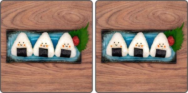 【間違い探し】2枚の写真で異なるところを見つける脳トレ