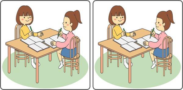 【間違い探し】3つの違いを見分ける知識不要の脳トレ