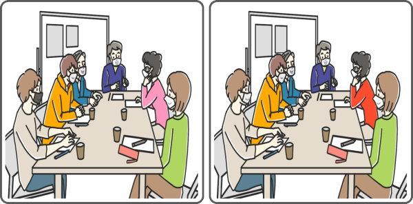 【間違い探し】3か所の違いを見抜く認知症予防動画