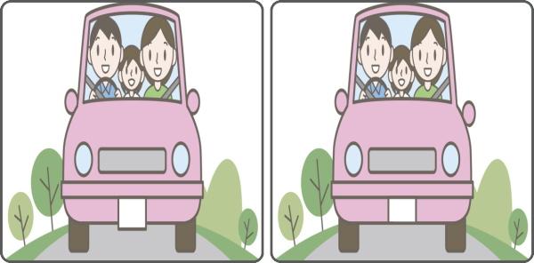 【間違い探し】左右の画像で違うところを探す認知症予防クイズ
