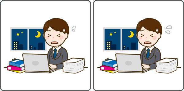 【1か所間違い探し】短時間で間違いを見つける認知症予防問題