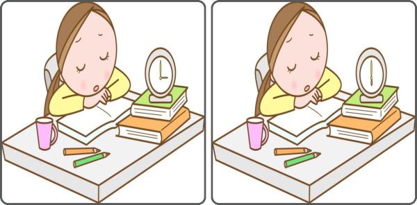 【1か所間違い探し】短時間で1か所の違いを探す脳トレ