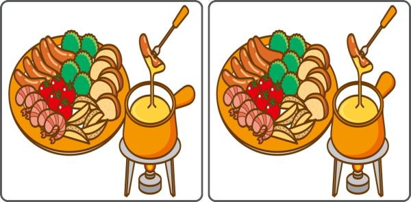 【間違い探し】左右に並んだ絵から3ヶ所の違うところを探す楽しい脳トレ