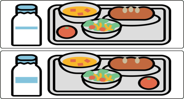 【間違い探し】上下のイラストから3カ所の違いを見抜く脳トレ
