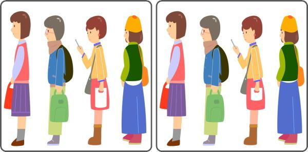 【間違い探し】3カ所の違いを探す高齢者向け問題