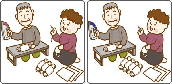 【間違い探し】空間認識力を鍛える高齢者向け脳トレ