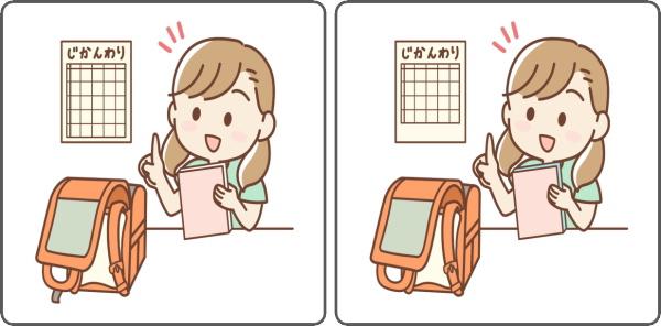 【間違い探し】認知症予防の脳トレ6問!